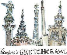 Urban Sketchers Spain. El mundo dibujo a dibujo.: Mercado de Santa Caterina - Barcelona