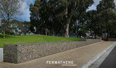 Permathene gabion @Cranbourne place park