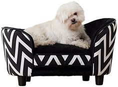Small Dog Bed Sofa Couch Luxury Plush Furniture Puppy Pet Lounge Cozy Toy Chaise #SmallDogBedUSA
