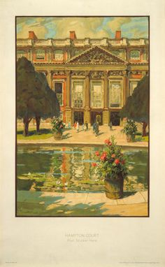 Hampton Court, by Terrick John Williams, 1929