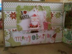 Pagina de album de navidad