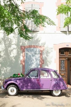 purple 2CV • citroen 2CV