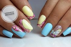 886 Best Two Color Nails Images On Pinterest In 2018 Nail Colors