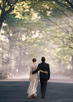 #couples #wedding #dress #suit #photography #trees #light
