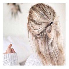 Hair crush #saturdaymood #halfbun #saturday #hairinspo