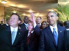 Presidentes Varela-Panamá....Obama-USA.....Castro-Cuba....VII Cumbre en Ciudad de Panamá.... 9 al 11 Abril 2015.