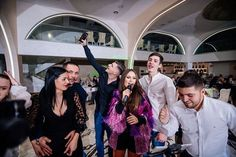 Muzica live pentru petreceri de nunta - Nicoleta Oancea & Band Fii, Coat, Jackets, Concert, Dresses, Fashion, Down Jackets, Vestidos, Moda