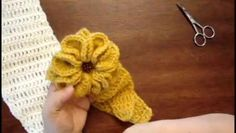 ▶ Crochet Adult Headband Part 2 - Video Dailymotion