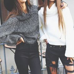 Image via We Heart It #fashion #girls #jeans #outfit #style #sweater #ootd