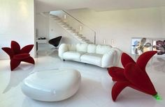 contemporary interior design trends and futuristic ideas