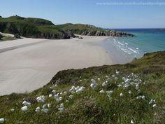 a beach at Durness, Scotland