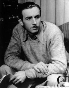 A very young Walt Disney.