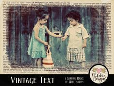 Photoshop Clipping Masks - 5 Vintage Text Grunge Photography Masks Digital Photo Masks Photoshop Masks Digital Scrapbooking Masks by ClikchicDesign Photoshop Mask, Photoshop Shapes, Photoshop Illustrator, Photoshop Brushes, Photoshop Elements, Graphic Design Tools, Grunge Photography, Shops, Text On Photo