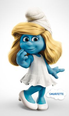 Smurfette from The Smurfs (2011)