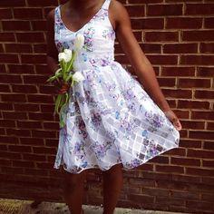 Peony Garden Dress #Anthropologie #MyAnthroPhoto