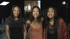 Zoe Saldana and Her Sisters Reveal What Really Motivates Them to Work Out!