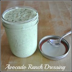 Mom, Whats For Dinner?: Creamy Avocado Ranch Dressing