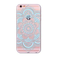 Colorful Floral Paisley Flower Mandala Henna Back Cover for iphone 5 5s SE 6 6s Case fundas capa Soft Clear Mobile Phone Cases