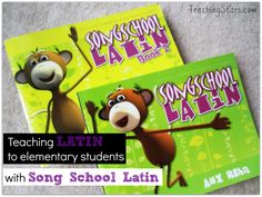 I Love Latin and You Can Too! - Teaching Latin to Elementary Students with Song School Latin |