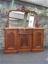 Antique Furniture Sideboard Chiffonier Mahogany Victorian