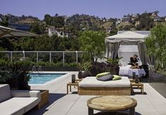 Andaz West Hollywood occupies a beautiful location that allows guests to enjoy scenic views of the Hollywood Hills! Rooms from $225 per night.