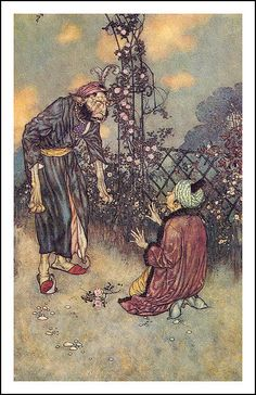 edmund dulac...He dropped the rose......from Beauty and the Beast