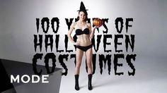 100 ans d'évolution des Costumes d'Halloween résumés en 3 minutes