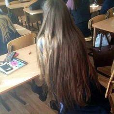 Pretty Hairstyles, Straight Hairstyles, Hair Inspo, Hair Inspiration, Pinterest Hair, Very Long Hair, Aesthetic Hair, Beautiful Long Hair, Dream Hair