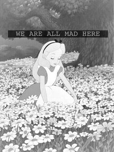 """""""'And what is the use of a book,' thought Alice, 'without pictures or conversation?'"""" """"& # Und was nützt ein Buch, & # dachte Alice, & # ohne Bilder oder Gespräche? Hipster Wallpaper, Tumblr Wallpaper, Disney Wallpaper, Wallpaper Iphone Tumblr Grunge, World Disney, Disney Pixar, Disney Characters, Tumblr Backgrounds, Wallpaper Backgrounds"""