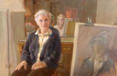 MOTHER, MYSELF 17.5 x 26.5 Oil on Canvas Sally Strand © 2014