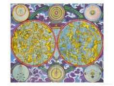 Celestial Map of the Planets