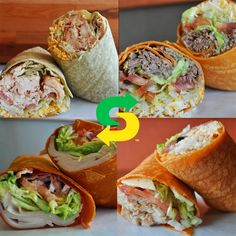Subway Signature Wraps