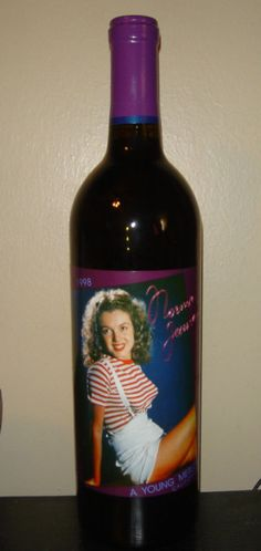 Norma Jeane 1998 1st First Vintage Marilyn Monroe Wine  #REDWINE With our first vintage of 1998 Norma Jeane, A Young Merlot, we invented a new style of Merlot somewhat patterned after the famous Beaujolais Nouveau from France.  The 1998 Norma Jeane is a very bright and fruity red wine brimming with fresh berry characters. The 1998 Norma Jeane is ready for immediate enjoyment.