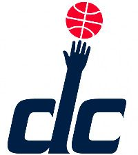 Washington Wizards Alternate Logo on Chris Creamer's Sports Logos Page - SportsLogos. A virtual museum of sports logos, uniforms and historical items. Wizards Basketball, Basketball Leagues, Basketball Teams, Sports Teams, Wizards Logo, National Basketball League, Washington Wizards, Washington Dc