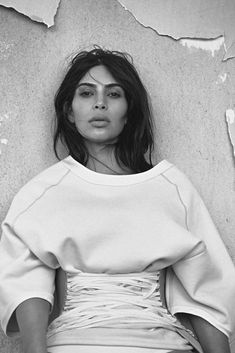"Kim Kardashian by Lachlan Bailey in ""Kim Gets Waisted"" for Vogue Australia, June 2016"