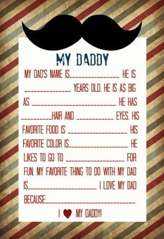 Fathers day fun