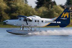 Harbour Air C-FITF De Havilland Canada DHC-3 Otter 89 YVR Vancouver Airport 2012