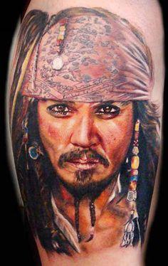 Tattoo Artist - Ron Russo - movies tattoo   www.worldtattoogallery.com