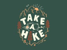Take A Hike v2 by Tatak Waskitho Pencil Art Drawings, Doodle Drawings, Cartoon Drawings, Kunst Shop, Jdm Stickers, Sketch Icon, Grad Hat, Typography Design, Lettering