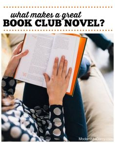 What makes a great book club novel? (Hint: it takes more than just a great book.) | Modern Mrs Darcy: