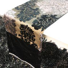Envío gratis occidental elegante corredor de la tabla/de cama de lujo de la bandera de la decoración/nuevo rico clásica flores moderno corredor de la tabla para la fiesta