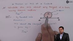 Learn Online   Problem  on  Moment of Inertia & Radius of Gyration of a ...