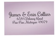 Custom Address Stamp Personalized wooden by TailorMadeStamps, $28.00