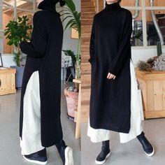 Muslim Fashion, Modest Fashion, Hijab Fashion, Trendy Fashion, Korean Fashion, Fashion Dresses, Modest Outfits, Casual Outfits, Autumn Fashion Women Fall Outfits