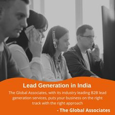 The Global Associates, with its industry leading B2B lead generation services, puts your business on the right track with the right approach #leadgeneration #leadgenerationservices #leadgenerationcompanies