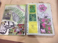 Natural forms sketchbook ideas, a level art sketchbook, textiles sketchbook, A Level Art Sketchbook, Textiles Sketchbook, Sketchbook Layout, Arte Sketchbook, Sketchbook Inspiration, Sketchbook Ideas, Fashion Sketchbook, Fashion Drawings, Natural Forms Gcse