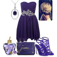 """Purple #4"" by fashionclothesboots on Polyvore"
