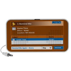 Speaker: Remind Me - Game Time Cool Gifts, Best Gifts, Ipod Speakers, I Am Game, Personalized Gifts, Games, Day, Personalised Gifts, Customized Gifts