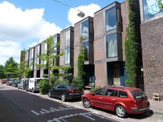 housing Borneo Sporenburg in Amsterdam, Netherlands