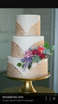 Lace Wedding Cakes edible lace doily by erica obrien cake design Fall Wedding Cakes, Wedding Cake Rustic, Wedding Cake Designs, Lace Wedding, Autumn Wedding, Trendy Wedding, Pretty Cakes, Beautiful Cakes, Amazing Cakes